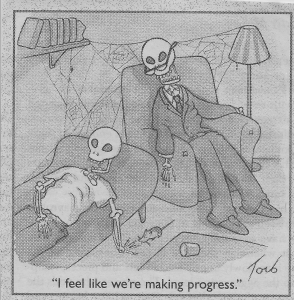 Therapist And Client Skeleton